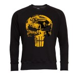 PUNISHER BLUZA MĘSKA PUNISHER SEASON MARVEL ZŁOTO