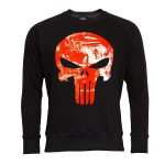 PUNISHER BLUZA MĘSKA PUNISHER SEASON MARVEL ORANGE