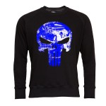 PUNISHER BLUZA MĘSKA PUNISHER SEASON MARVEL BLUE