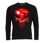 PUNISHER BLUZA MĘSKA PUNISHER SEASON MARVEL RED