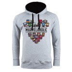 MARVEL BLUZA Z KAPTUREM I AM MARVELOHOLIC