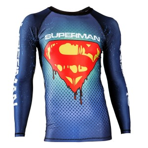 RASHGUARD SUPERMAN