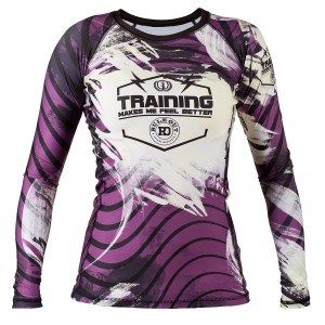 RASHGUARD TRAINING MAKES ME FEEL BETTER RO