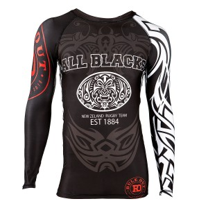 RASHGUARD ALL BLACKS NEW ZELAND RUGBY TEAM