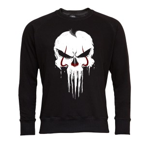 PUNISHER BLUZA MĘSKA PUNISHER SEASON MARVEL WHITE