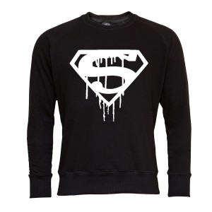 SUPERMAN BLUZA MĘSKA SUPERMAN C WHITE