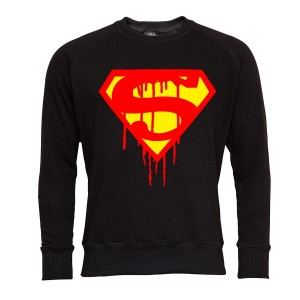 SUPERMAN BLUZA MĘSKA SUPERMAN C RED AND YELLOW