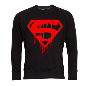 SUPERMAN BLUZA MĘSKA SUPERMAN C RED