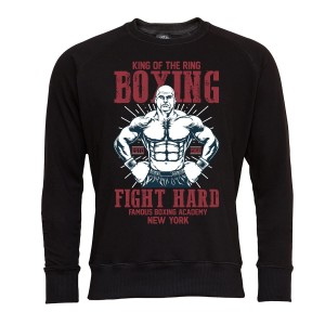 MARTIAL ARTS BLUZA MĘSKA KING OF THE RING BOXING