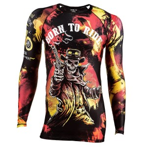 RASHGUARD BORN TO RIDE