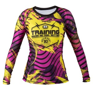 RASHGUARD TRAINING MAKES ME FEEL BETTER